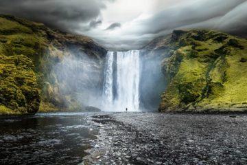 アイスランドの雄大な自然